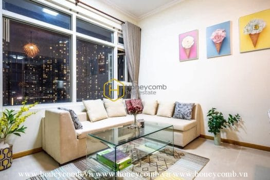 SP72 www.honeycomb.vn 8 result Well-designed and vintage apartment for rent in Sai Gon Pearl