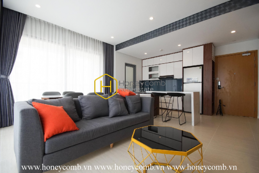DI158 www.honeycomb.vn 11 result Discover nonstop luxury in this exquisite 2 bedrooms apartment in Diamond Island for rent