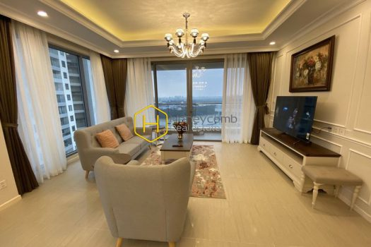 DI163 www.honeycomb 4 result Enjoy the peaceful morning by panoramic river view with British furnished apartment in Diamond Island