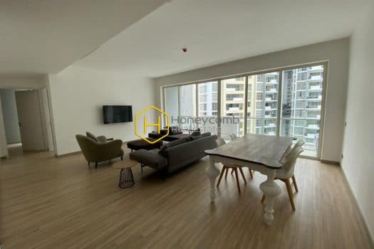 ES738 www.honeycomb.vn 2 result Great! Three bedrooms apartment with modern style and pool view in The Estella for rent