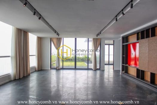 TDP128 www.honeycomb 3 result Complete your dreamy living space with this spacioud and unfurnished PENTHOUSE in Thao Dien Pearl