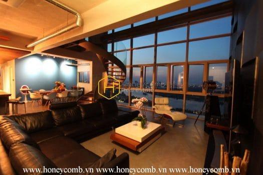 VD99 www.honeycomb.vn 6 result Splendid architect-designed duplex for rent in The vista