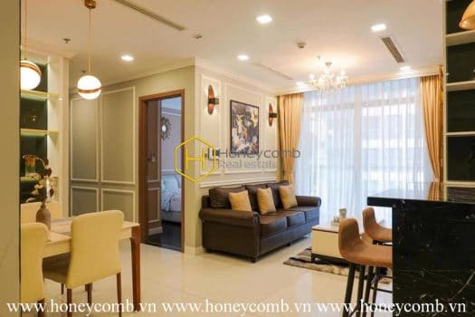 VH739 www.honeycomb.vn 6 result Sophisticated apartment with luxury layout for rent in Vinhomes Central Park