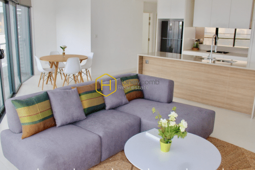 CITY348 www.honeycomb.vn 1 result High floor apartment for rent in City Garden – Such a luxury residence!
