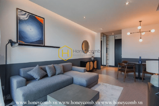 FEV31 www.honeycomb 5 result A mystery living space- The Feliz En Vista apartment with dark tone and modern design for lease