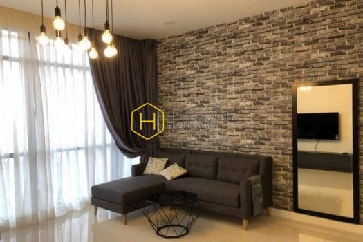 NS92 www.honeycomb 1 result Such a great decoration of transitional design! Apartment for rent in Nassim Thao Dien