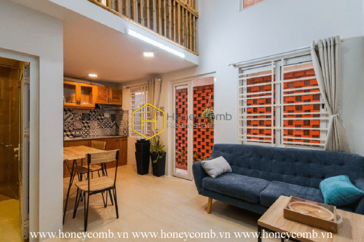 2S70 www.honeycomb 6 result Sophisticated serviced apartment with elegant rustic interiors in District 2