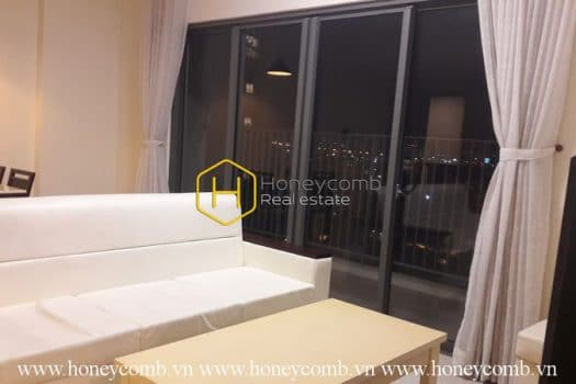 MTD2307 www.honeycomb 2 result Contemporary style apartment with dominant white color in Masteri Thao Dien for lease