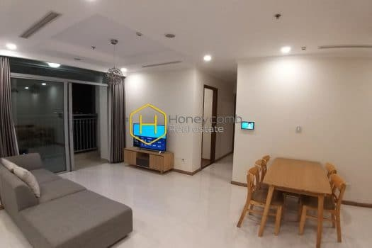 VH1056 www.honeycomb 4 result Simplified design apartment with full furniture in Vinhomes Central Park for rent