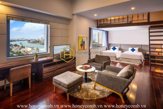 BTS5 www.honeycomb 1 result When deluxe beauty combines with warm hue layout- Serviced apartment in Binh Thanh District