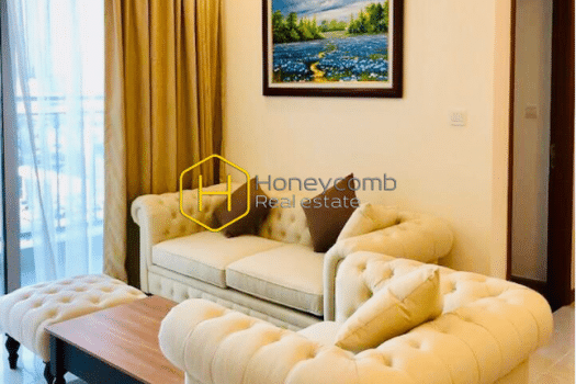 VH1201 1 result Beautiful in pure white tone - Vinhomes Central Park apartment for leasing