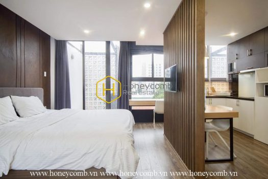 1S7 1 result The rooftop apartment located in District 1 with modern wooden architecture and elegant design