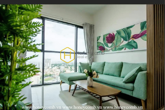 AS56 2 result The Ascent Thao Dien 2 beds apartment with high floor for rent