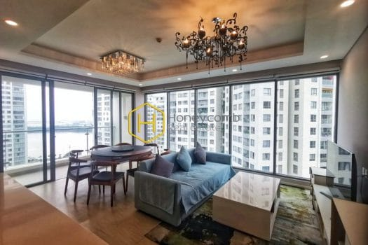 DI221 12 result Charming design apartment with elegant wooden furniture for rent in Diamond Island