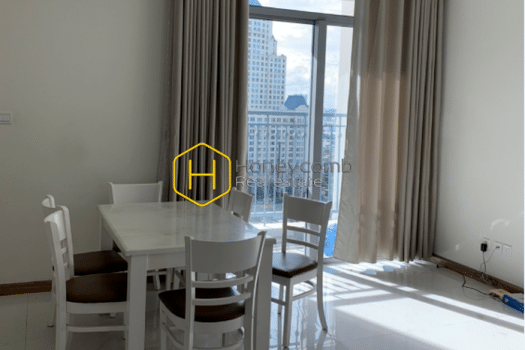 VH1265 1 result Shiny and basic apartment in Vinhomes Central Park for rent