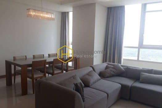 X147 6 result Sophisticated 3 bedroom apartment for rent in Xi Riverview Place