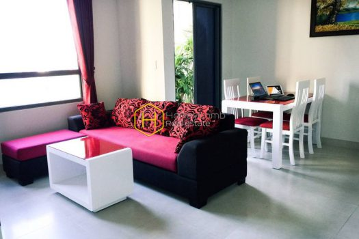 MTD736 1 result Low floor apartment with two bedrooms in Masteri Thao Dien for rent