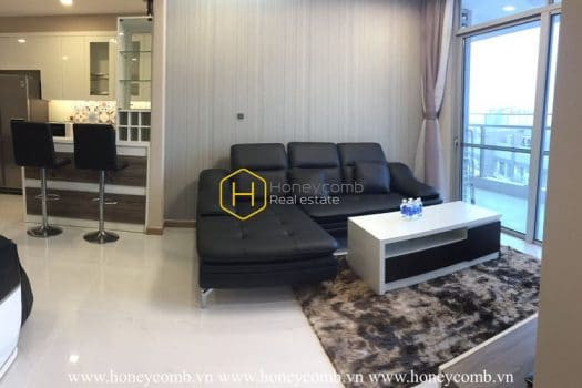 VH1464 1 result This Vinhomes Central Park apartment own ones of the most beautiful views in Saigon