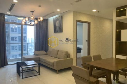 VH1466 7 result Vinhomes Central Park apartment:  minimalist aesthetic of the home design