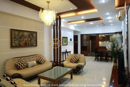 SP108 13 result Saigon Pearl apartment facilitates you to directly experience one of the best living space in the world