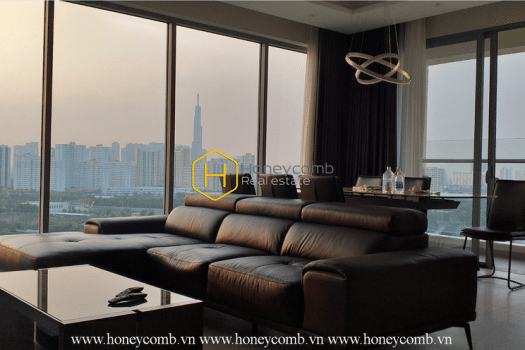 8 result 11 An airy river view apartment for rent with full furniture in Diamond Island
