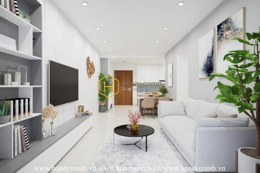 OV20 2 result You will be fascinated by aesthetic interior design in One Verandah apartment