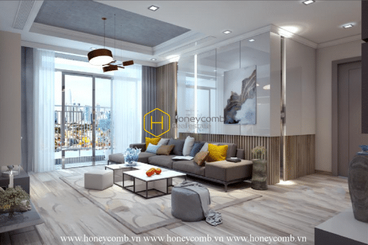 VH1664 1 result Make your dream come true with this amazing apartment for rent in Vinhomes Central Park