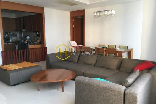 1 result 44 Perfect interior with a 3-bedroom apartment in Xi Riverview Palace