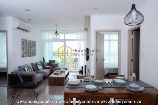 2V105 16 result This stunning District 2 serviced apartment for rent makes you unable to refuse